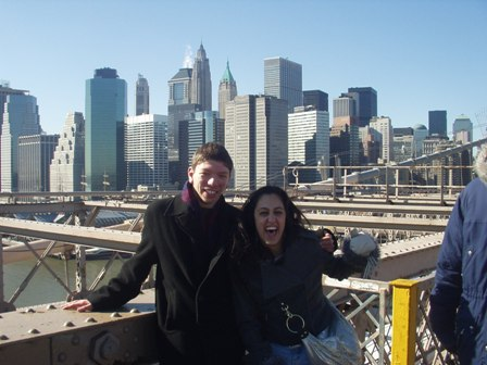 On the wonderful Brooklyn Bridge