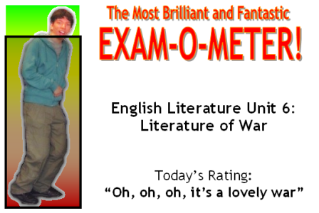 The Most Brilliant and Fantastic Exam-O-Meter!
