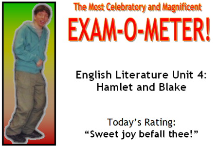 The Most Celebratory and Magnificent Exam-O-Meter!