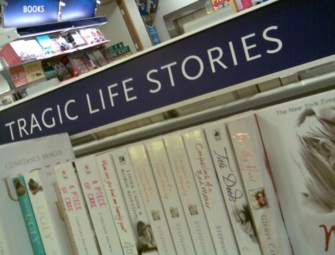 'Tragic Life Stories' in WHSmith