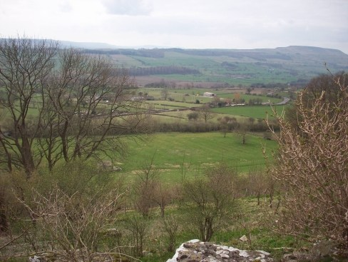 The Yorkshire Dales during our walk