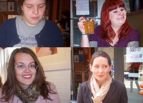 Sanna, Abbi, Lucy and Sophie: who's the odd one out, and why?
