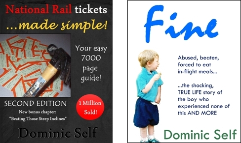 'National Rail Tickets …made simple!' and 'Fine'