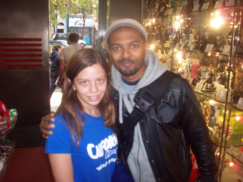 Katie and (gasp) Noel Clarke!
