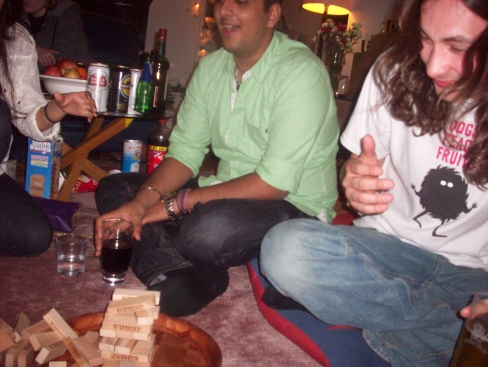 Drink-along-a-Jenga
