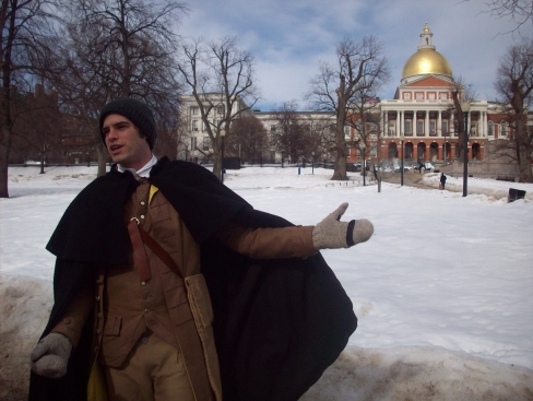 1. Boston's (snowy) Freedom Trail