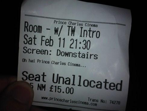 Oh hai Prince Charles Cinema