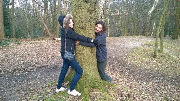 Tree-hugging