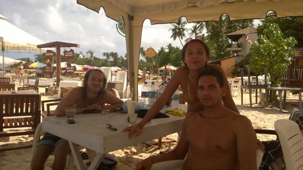 Josh, Ella and Saul
