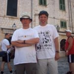 In Dubrovnik's walled city