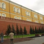 The walls of the Kremlin...
