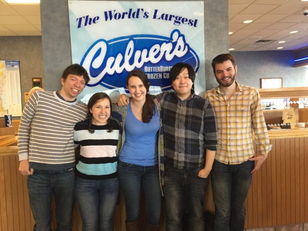 "On the drive up, we stopped at the ""world's largest"" Culver's."