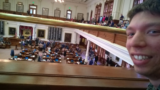 Enjoying the Texas House of Representatives