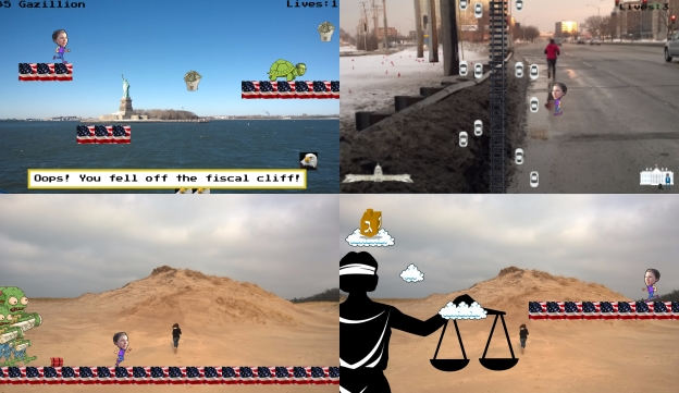 Collect cash, beat turtles, avoid cars, kill zombies and more
