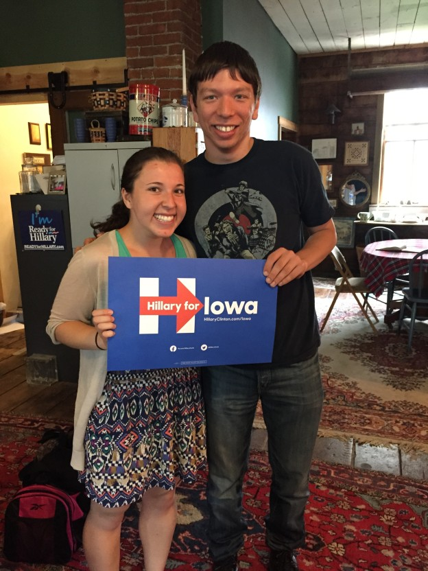 Hillary for Iowa! Also, for the other 49 states too!