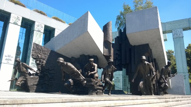Monument to the Warsaw Uprising of 1944