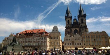 Warsaw and Prague