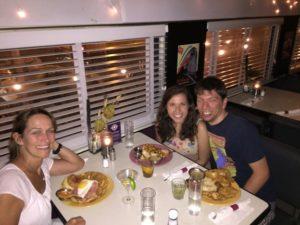 Lauri, Randi and me