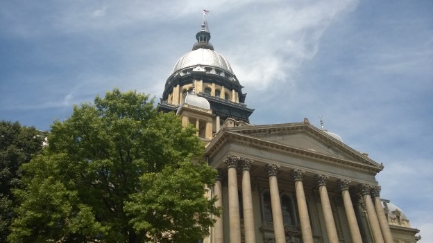 The state capitol. The roof is apparently occupied by Cybermen.