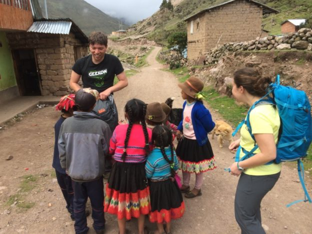These children had zero problems running around at high altitude