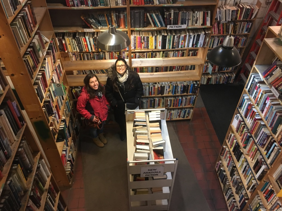 Randi and Villy and books