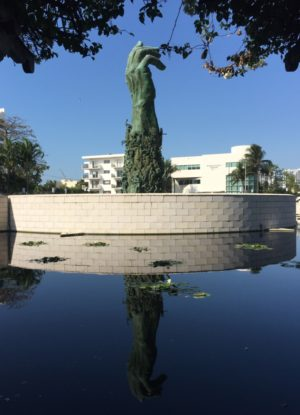 The Holocaust Memorial in Miami Beach