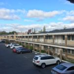 Sunny blue skies, as yet murder-free motel