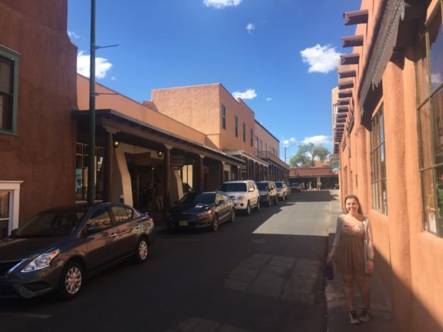 In Santa Fe, the buildings really are all this colour