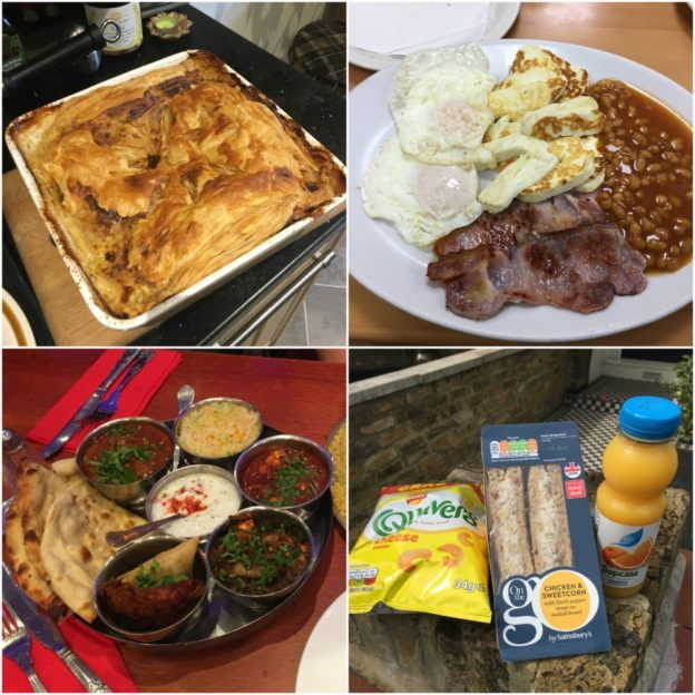 Tash's pie! Halloumi breakfasts! Indian dinners! Sainsbury's meal deals!