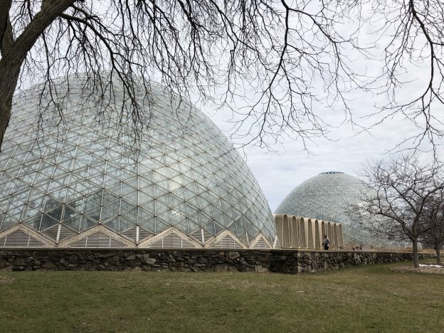 Mitchell Park Domes. Call them geodesic domes and lose ten points.