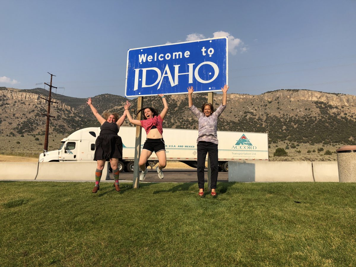 Excited for Idaho
