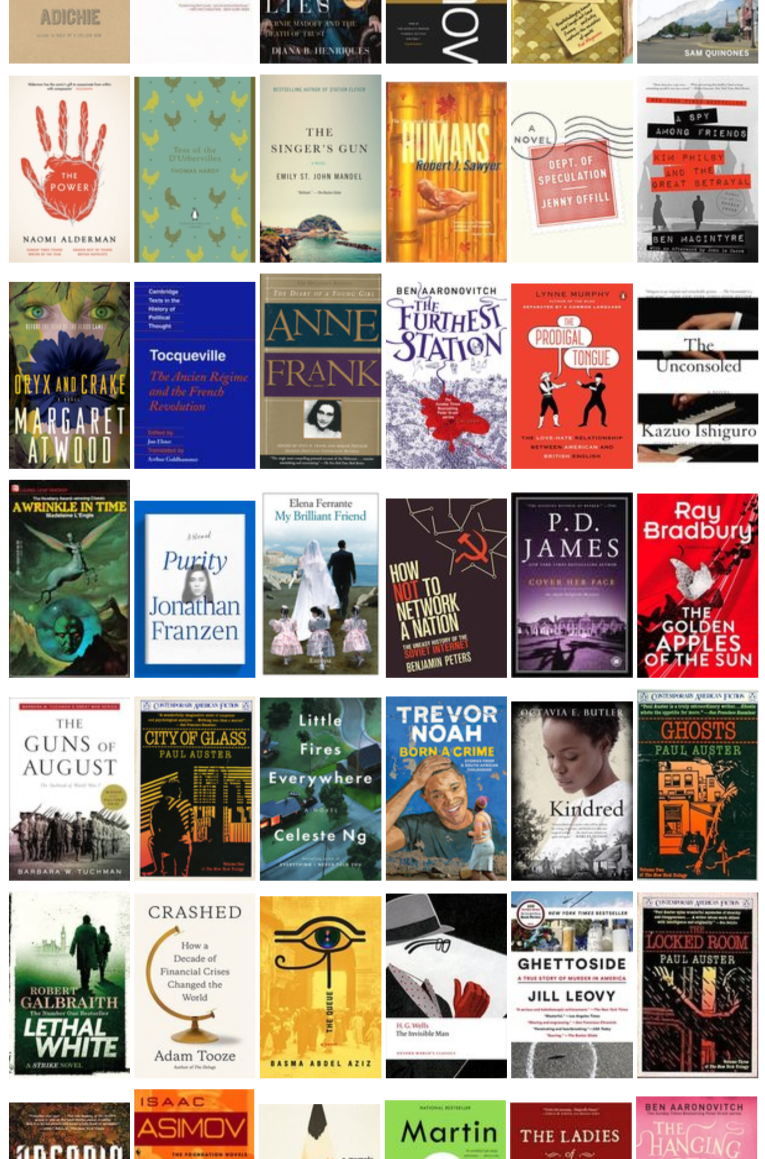 2018 Year In Books