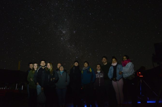 Our stargazing group