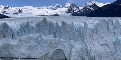 The Glacier at El Calafate