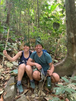 In our jungle trekking hats