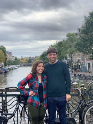 Amsterdam coupley shot